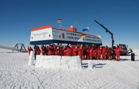 AWI Neumayer Station Antarktis
