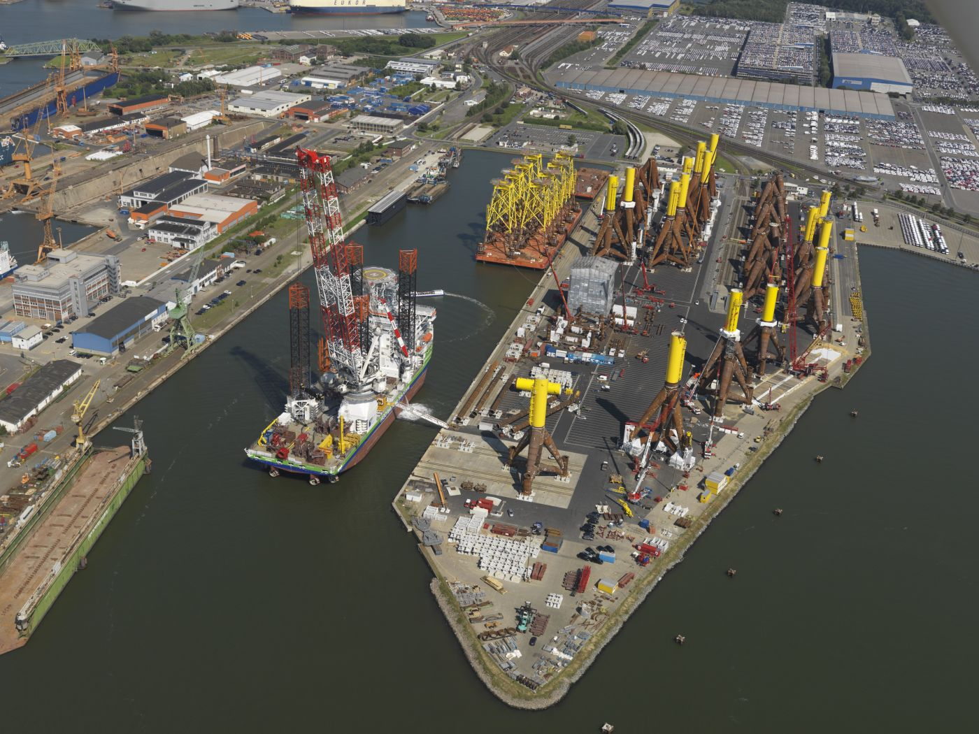 Offshore Terminal ABC Halbinsel