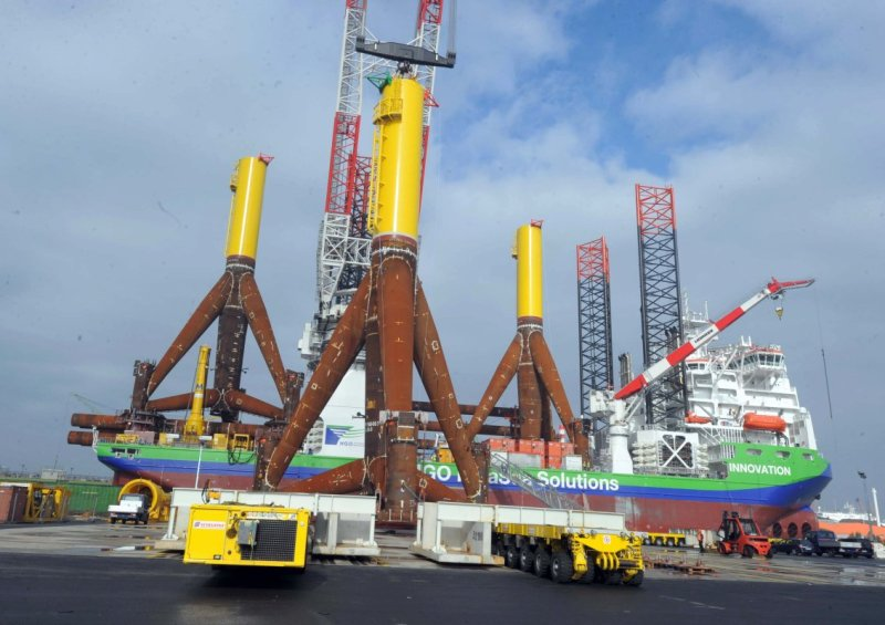 Die Innovation am Offshore Terminal ABC Halbinsel