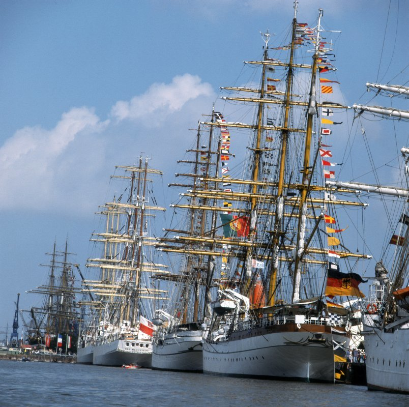 Internationales Windjammertreffen Sail Bremerhaven